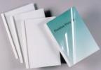 Liminnbindingsmappe 4mm GBC (100) hvit IB370038