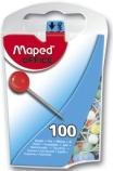 Kartnåler MAPED 2mm ass farger (100) 346011 6