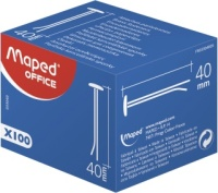 Stikkbinders MAPED messing 25mm (100) 033010
