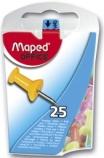 Kartnåler MAPED 10mm ass farger (25) 345011 7