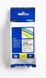 Tape Brother TZE251 sort/hvit 24mmx8m