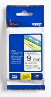 Tape Brother TZE221 sort/hvit 9mmx8m