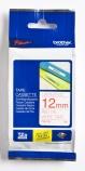 Tape Brother TZE232 rød/hvit 12mmx8m