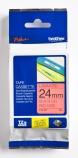 Tape Brother TZE451 sort/rød 24mmx8m