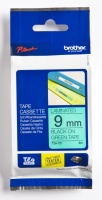 Tape Brother TZE721 sort/grønn 9mmx8m