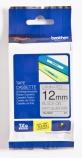 Tape Brother TZEM931 sort/sølv 12mmx8m