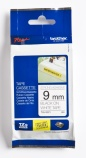 Tape Brother TZES221 sort/hvit 9mmx8m