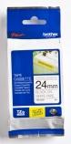 Tape Brother TZES251 sort/hvit 24mmx8m