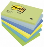 POST-IT® notatblokk 76x127mm 655 ass (6) FT510283524