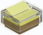 Post-it dispenser res.glass m/1bl. Z-notes 76x76 R330SD1