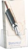 Brosjyreholder Helit A4 1/3 klar H2351002