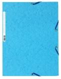 Strikkmappe Exacompta blå m/3klaffer kart.55519E