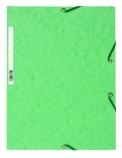 Strikkmappe Exacompta grønn m/3klaffer kart.55513E