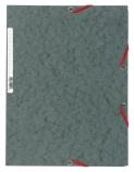 Strikkmappe Exacompta grå m/3klaffer kart.55511E