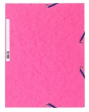 Strikkmappe Exacompta rosa m/3klaffer kart.55520E