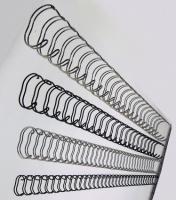 Metallspiral Leitz 8mm. sølv (100) 27710 3:1 65ark