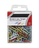 Binders 25mm ass. farger (100) 7397995