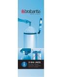 Avfallspose Brabantia 12L. (20) hvite 245343