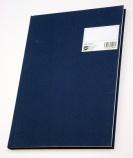 Protokoll A4 linjert 96 blad blå (org.nr.PL0001128)