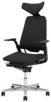Savo kontorstol S3 500LN , stoff Fame , lene og nakkestøtte