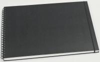 Skissebok Grieg A3 liggende sort (org.nr.267050)
