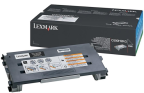 C500 toner black HC 5k, LEXC500H2KG