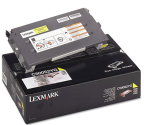 C500 toner yellow HC 3k, LEXC500H2YG
