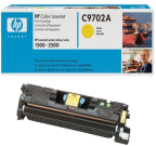 Color Laserjet 1500/2500 yellow toner cartridge, HPC9702A