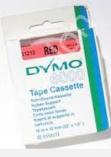 Dymo tape D2 61212 rød for Dymo 6000