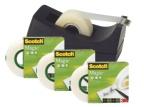 Tape SCOTCH® Magic 810 19x33 4pk m/disp (org.nr.FT510066671)