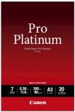 Fotopapir Canon PT-101 A3 Platinium (20) 300gr. 2768B017AA