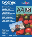 Fotopapir Brother BP71 A4 gloss (20) 260gr. BP71GA4