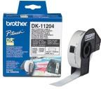 Etikett Brother DK11204 17x54mm (400) universal