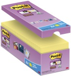 POST-IT® SuperS 76x76mm økonomi gul (16) 70005198323