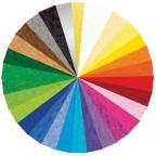 Kartong URSUS A4 220g 10 farger (120 sett)