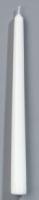 Antikklys Duni 25cm hvit (50) (org.nr.157928)