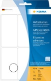 Etikett HERMA manuell 40x75mm hvit(192) (Org.nr.2590)