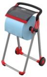 Stativ Tork gulv W1 rød/sort 652008