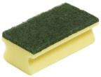 Kjøkkensvamp Jif m/grep gul/grønn 2619