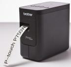 Merkemaskin Brother PTP750W for TZE tape 3,5-24mm og krympestrømpe