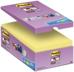 POST-IT® SuperS 76x76mm økonomi gul (16) 70005198349