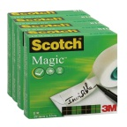 Tape SCOTCH® Magic 810 19mmx33m (4)