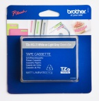 Tape Brother TZEQL35 hvit/grå 12mmx5m