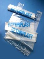 Avfallssekk Returplast 240L. (10) knyte,klar m/trykk 8054414100
