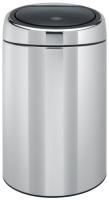 Avfallsbeholder Brabantia Touch Bin 20L rustfri stål 415920