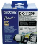 Etikett Brother DK11209 29x62mm (800) adresse