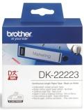 Etikett Brother DK22223 50mmx30,48m papir