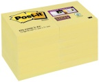 POST-IT® SuperS 51x51mm gul (12) 70005197937