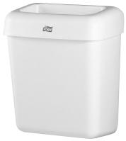 Avfallsbeholder Tork B2 20L hvit plast 226100