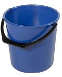 Bøtte plast 10L blå rund 1111-0600